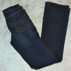 Rock & Republic Blackish Blue Jeans LIKE NEW SZ 4